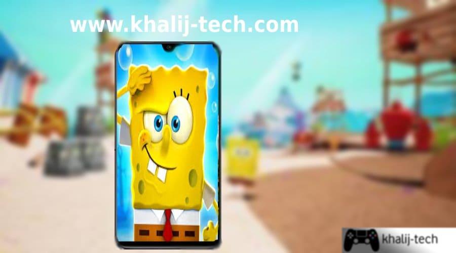 تحميل لعبة سبونج بوب سكوير بانتس SpongeBob SquarePants للاندرويد مجانا